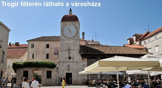 látnivalók Trogirban